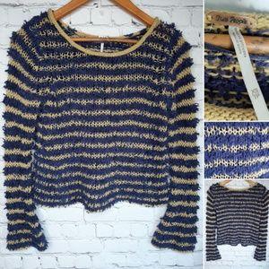 Free People cropped sweater size XS